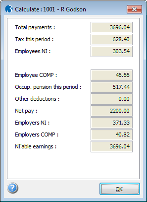Payroll Net To Gross